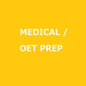 Medical English/OET Prep