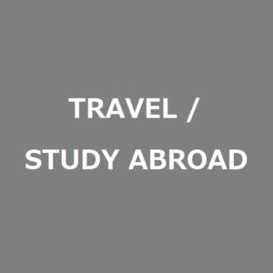 Travel/Study Abroad English